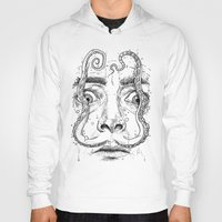 Hoodies featuring octopus dali by NikKor