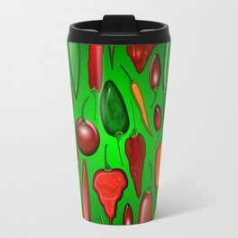 Chili Peppers Hot And Spicy Travel Mug