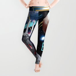 Ancient Gods and Planets: Pluto Leggings