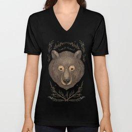 The Bear and Cedar Unisex V-Neck