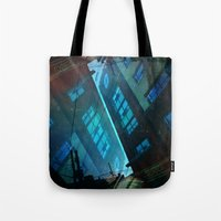 inception Tote Bags featuring Inception. by Vanessa Furtado