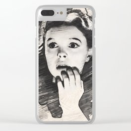 Judy Garland Clear iPhone Case