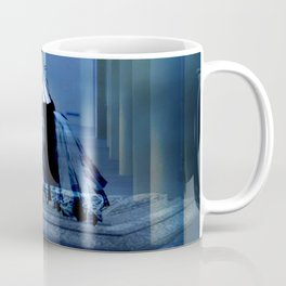AWAITING THE END OF CORPORATE GREED Coffee Mug