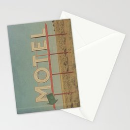 Vintage Motel Stationery Cards
