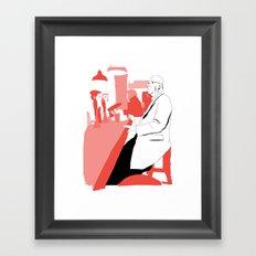 Having A BloodyPint Framed Art Print