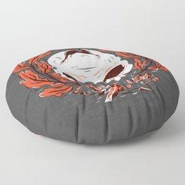 Symbol Skull Floor Pillow