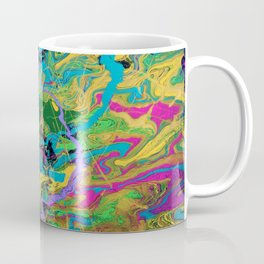 Mardi Gras Marble Coffee Mug