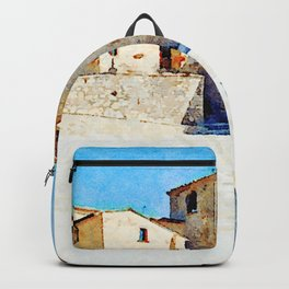 Borrello: church and building Backpack