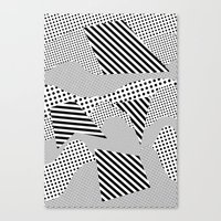 games Canvas Prints featuring Beach Games by Tyler Spangler