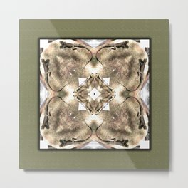 Lizards in a spin Metal Print