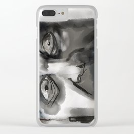 the executioner Clear iPhone Case