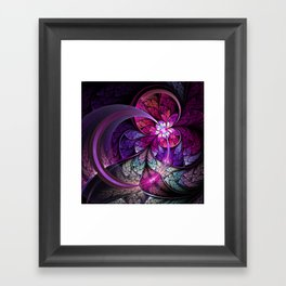 Fly - Abstract Fractal Artwork Framed Art Print