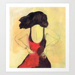 SELINA BEACH SKETCHBOOK Art Print