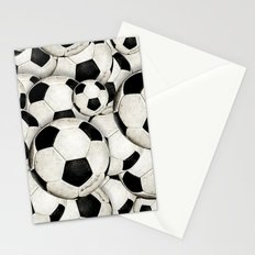 Dirty Balls - footballs Stationery Cards