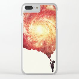 The universe in a soap-bubble! Clear iPhone Case