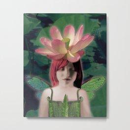Lotus Dreamer Metal Print
