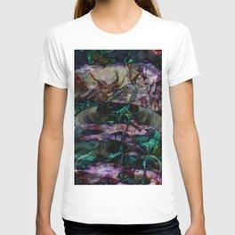 unique marble T-shirt