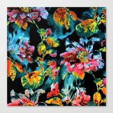 double floral Canvas Print