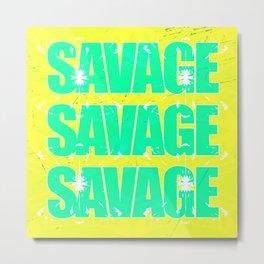 Savage 2 Metal Print