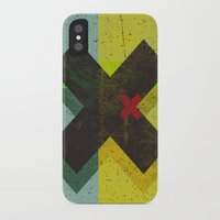 cross iPhone & iPod Cases featuring CROSS by Metron