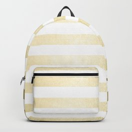 Simply Striped Gilded Palace Gold Backpack