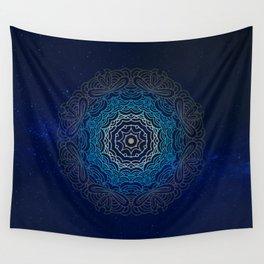 Cosmic Mandala Wall Tapestry