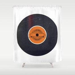 Vinyl Record Art & Design | World Post Shower Curtain