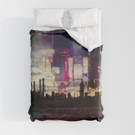 Moodboard NYC Duvet Cover