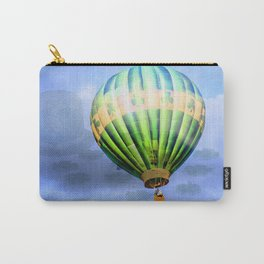 Floating through clouds of shamrocks Carry-All Pouch