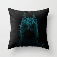 Dark Rising Throw Pillow
