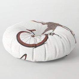 Stag Bike Floor Pillow