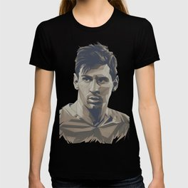 Leo Messi Soccer Superstar Icon T-shirt