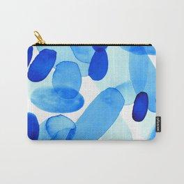 Beach Glass Blue Carry-All Pouch