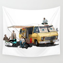 GISHBUS 2.0 Wall Tapestry