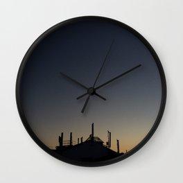 Sunday Sky Wall Clock