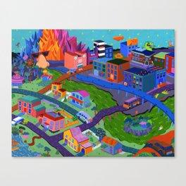 Local Flavor Canvas Print