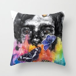 Schizoid Throw Pillow