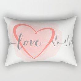 Lovely Bliss Rectangular Pillow
