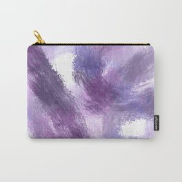 Purple Watercolor Abstract Art Carry-All Pouch