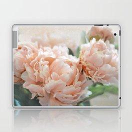 Peach Peonies Laptop & iPad Skin