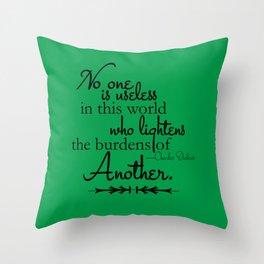 Who Lightens Throw Pillow