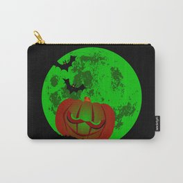 Full Halloween Moon Carry-All Pouch