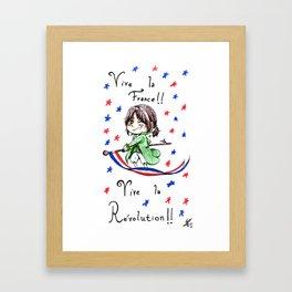 Vive la Révolution! Framed Art Print