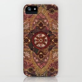 Coral and Pearls iPhone Case