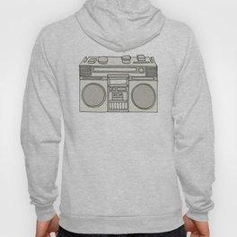 Radio Days (Grey) Hoody