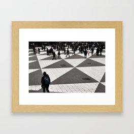 Pattern Cognition Framed Art Print