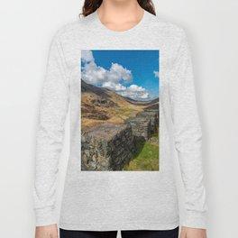 Nant Ffrancon Pass Snowdonia Long Sleeve T-shirt