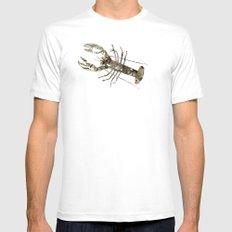 lobster in paris Mens Fitted Tee White MEDIUM