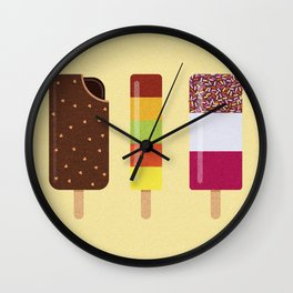 ICE LOLLIES Wall Clock