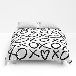 X's and O's Comforters